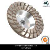 4 Inch Double Row Grinding Aluminium Cup Wheels