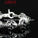 Fashion Skull 316 Stainless Steel Bracelet Jewelry (SJB273)