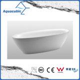 Luxury Pure Acrylic Seamless Self Standing Bath Tub (AB6514)