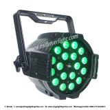 18PCS 15W Rgbaw+UV 6 in 1 Indoor Zoom PAR Light