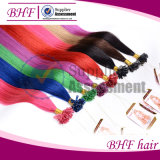 Fusion Hair Extensions Italian Keratin Fusion Nail U Tip Ombre Two Tone Dye Hair Extension Indian Remy Human Straight 0.5g/S 50g