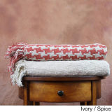 Woven Pure Cotton Throw Blankets