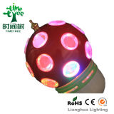 360 Degree Colorful Full Color Rotating with CE/RoHS LED
