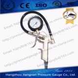 50mm 1.5MPa Silver Tire Air Pressure Gauge