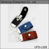 Fashion Design Leather USB Flash Drive (UFD-L028)