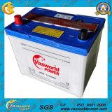 JIS Standard N60 12V60ah Dry Charge Car Battery