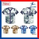 Healong Graphic Design Customized Baseball Jersey Uniform Shirt