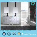 Double Mirror Bathroom Vanity Floor Mounted Bathroom Cabinet (BLS-NA006)