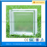 190*190*85mm Clear Acid Glass Block Factory