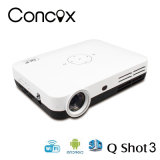 Android 4.2 WiFi 3D LED Pico DLP Projector with 600 Lumens