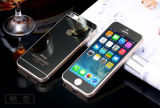Tempered Glass Screen Protector for iPhone 5/5s/Se Electroplating Black Color
