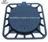 Di 850X850mm Algeria Manhole Cover with Lock and Hingle