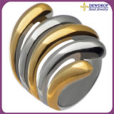 High Quality Stainless Steel Exaggerated Ring Fashion Accessories for Women (SSR3062)