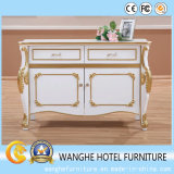 Luxury White Side Table for Hotel Furniture
