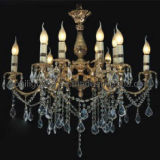 European Classic Candle Crystal Chandelier (MD-2027/6+6)