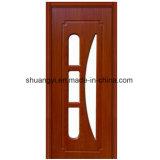 China Made HDF Interior Wooden Door Design