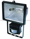 500W Halogen Flood Light with Motion Sensor
