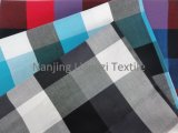 Yarn Dyed Cotton Fashion Check Fabric