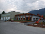 Commerical Steel Structure Shop Building