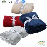 Customize Plaine Color Soft Coral Fleece Baby Blanket Baby Goods