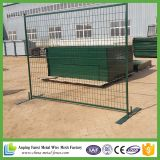 Attractive Green Powder Coated Temporary Fence