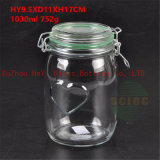 1L Seal Glass Food Jar Glass Container