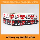 Lovely Heart Print Fashion Lady Belt