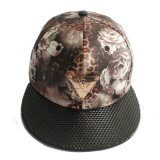 Full Fit Snapback Hats Cheap with Imitation Leather (GKA15-F00018)
