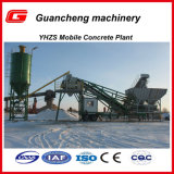 Yhzs40 Movable Concrete Mixing Station Plant with 40m3/H Capacity