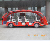 Cheap Price Battery Powered Electric Sightseeing Bus Made in China