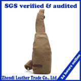 Men′s Canvas Waist Belt Bag Fashionable Shoulder Bag Durable Chest Bag for Wholesale (009)