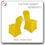 Bright Yellow Tight Model Simple Chair Covers (YT-79)