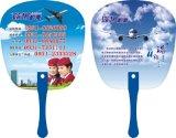 Promotional Summer Advertising Plastic Hand Fan, Customized PP Hand Fan
