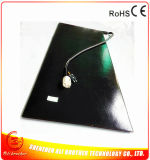 1067*406*7mm Electric Tyre Heater Black Silicone Rubber Heater