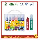 Short Fat Watercolor Pen 6PCS in PVC Bag