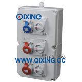 New Type Mennekes Plasticcombination Socket Box