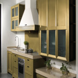 2016 OEM Full Assembled Solid Wood Kitchen Cabinet