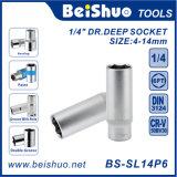 1/4′′dr Deep Socket Cr-V Guides Fastener