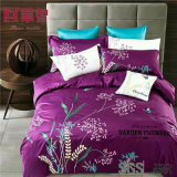 40s Cotton Embroidery Duvet Cover Bedding Sets