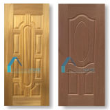Coloration Teak and Cherry Wood Veneer Laminate Moulded HDF Door Skins