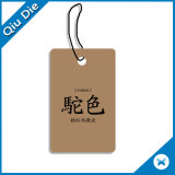 Custom Fashion Tag Clothing Hangs Tags /Price Tag/Jeans Hang Tags
