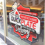 Printed Promotion Static Cling Window/Glass Sticker With Custom