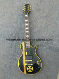 Yellow Binding Quality Custom Electric Guitar