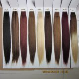 Ombre Color Seamless PU Tape Skin Weft Hair Extension