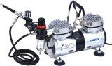 Mini Airbrush Compressor Set