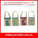 Easter Decoration (ZY16Y774-1-2-3-4) Easter Handbag Decoration Paper Shopping Bag