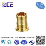 Precision Machined Brass Communication Adapter