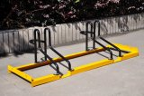 Galvanized Grid/Slot Bicycle Parking Rack (ISO Approved)