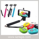 3 in 1 Phone Bluetooth Shutter+Extendable Monopod+Holder Selfie Stick/Self Timer