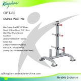 Top Weight Plate Tree Rack/Pump Set Rack/Dumbbell Rack/Storage Rack/Fitness Equipment/Body Building Plate Tree Rack